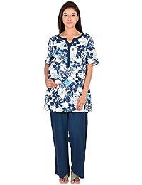 Floral-printed Nursing night-suit_1MN16-0736-NS1-P