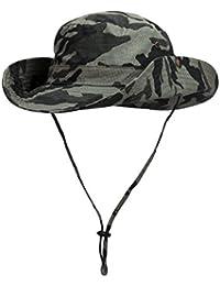 WANYING Camuflaje Sombrero para Hombre Mujer Sombrero de Pescador  Protectora del Sol para al Aire Libre 12616de52c9