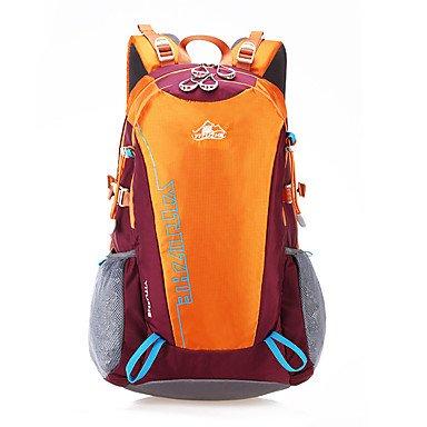 35 L Rucksack Camping & Wandern Reisen Wasserdicht tragbar Atmungsaktiv Feuchtigkeitsundurchlässig Blue