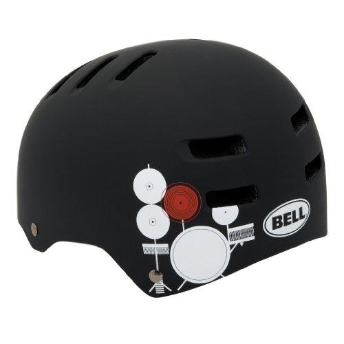 Bell Fahrradhelm Faction, matte black/white paul frank drums, 58-63 cm, 210027078