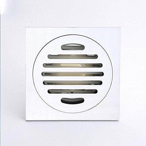mdrw-bathroom accesorios full cobre tipo desodorizante plagas prueba Floor Drain Cover. Baño minimalista moderno cuarto de baño ducha drenaje Core