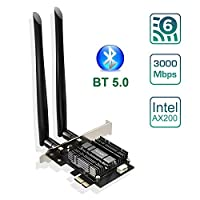 بطاقة شبكة واي فاي لاسلكية من EDUP PCIE EP-9636GS-BL