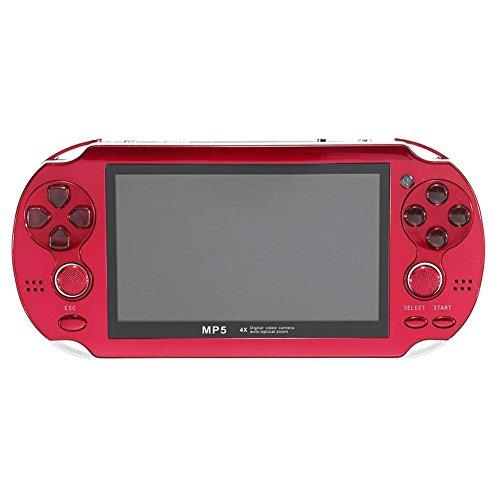 Stilvolle Handheld-Spielkonsole großen Bildschirm 4,3-Zoll-Spielkonsole Player 16 Millionen Pixel Hardware-Kamera für Kinder und Erwachsene geeignet