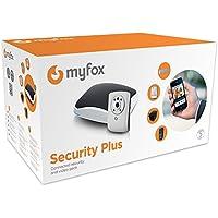 Myfox HC2 Evolution - Equipo de centro de alarma IP (con sensor TAG, mando a distancia con 4 botones, detector de infrarrojos, repetidor radio de sirena, cámara IP y sirena exterior radio)