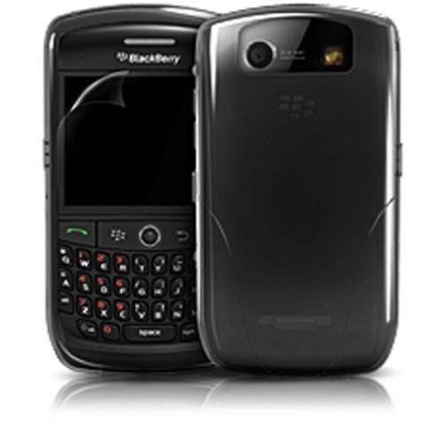 iSkin vibes Schutzhülle schwarz für Blackberry Curve 8900 Iskin Vibes Für Blackberry