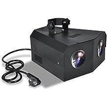 GBL® Disco Lumière DJ DMX Projecteur Eclairage RGB LED Dual-Moonflower