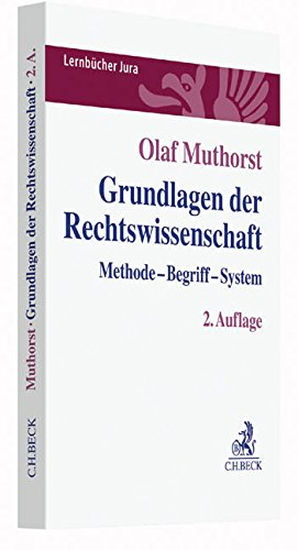 Grundlagen der Rechtswissenschaft: Methode, Begriff, System (Lernbücher Jura)