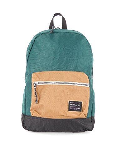 O' Neill Zaino Coastline Premium scuola verde tasca anteriore 14litri
