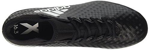 adidas Herren X 16.3 in Fußballschuhe Schwarz (Cblack/ftwwht/cblack)