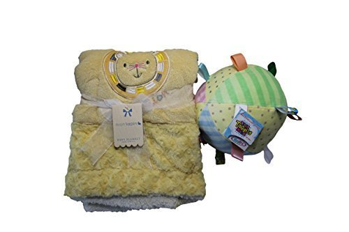 Baby Bundle Of 2–monlapin Löwe Baby Decke und Taggies Rassel Ball