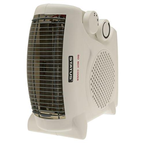 Status FH2P-2000W1PKB Heater, 2000 W, White
