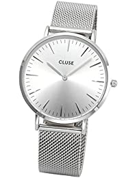 Watch Cluse La Bohème Mesh Full Silver CL18114