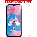 VALUEACTIVE 2.5D Tempered Glass Screen Protection for Samsung Galaxy M30 (Black)