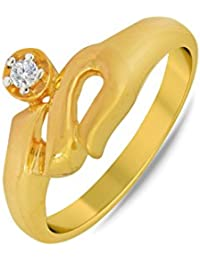 P.N.Gadgil Jewellers Lavanya Collection 22k (916) Yellow Gold Ring - B01MAVYNBV