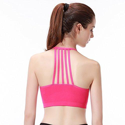 ny Soutien-gorge sans couture pour femme sans jantes Running Fitness Fitness Yoga Shock - Sous-vêtements rapides Se leva