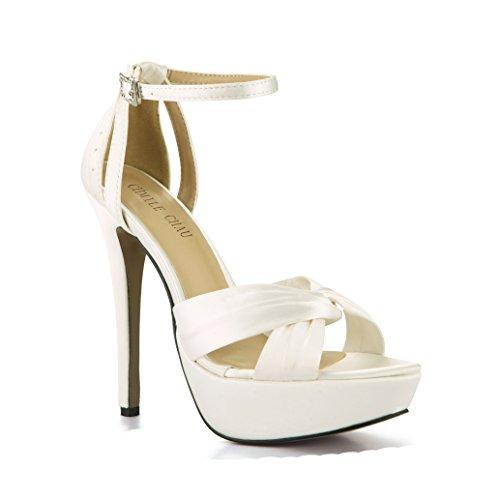 CHMILE CHAU Zapatos Mujer Sandalias Tacon Alto Aguja