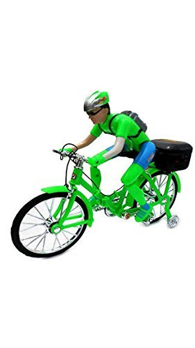 Baby Play Ben10 Battery Operated Foldable Bicycle With Music & Lights