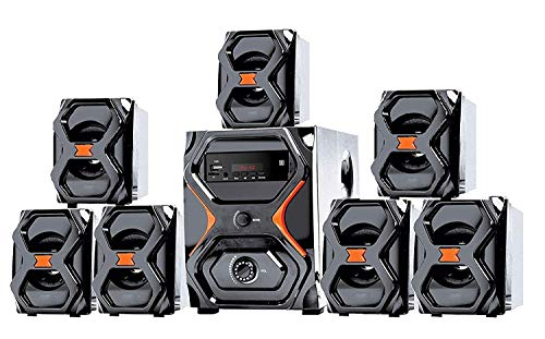 IKALL 7.1 Channel IK-2222 Home Theater System (Black)