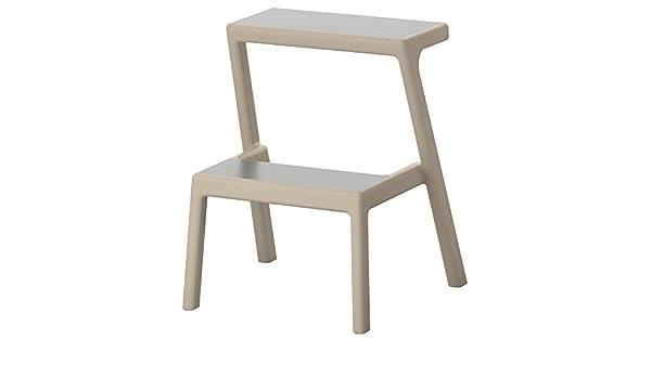 Ikea masterby sgabello beige: amazon.it: fai da te