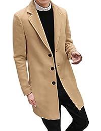 Amazon.it  cappotto cammello uomo  Abbigliamento bfd39f3d268