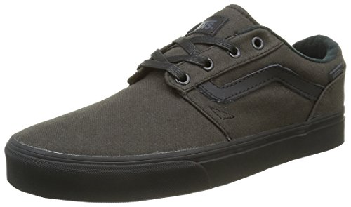 Vans Herren Chapman Stripe Low-Top Schwarz (Waxed black/black)
