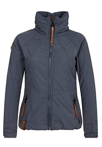 Naketano Female Jacket Klatschen Und So Dark Bluegrey, XL