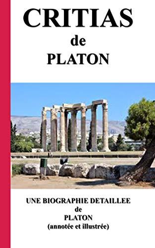 Couverture du livre CRITIAS: une biographie détaillée de PLATON(annotée et illustrée)