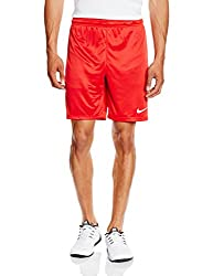Nike Men Park Ii Knit Shorts - University Redwhite, X-large