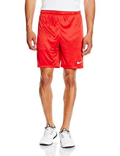 Nike Herren Fußballshorts Park II, Rot (University Red/White/657), Gr. 2XL
