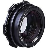 niceEshop(TM) 1.08-1.60X Zoom SLR Viseur Loupe de Visée Pour Canon, Nikon, Sony (Noir)