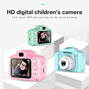 Ronshin Electronic Children Mini Digital Camera Kids Educational Toys with 16GB Memory Card as Children Baby G