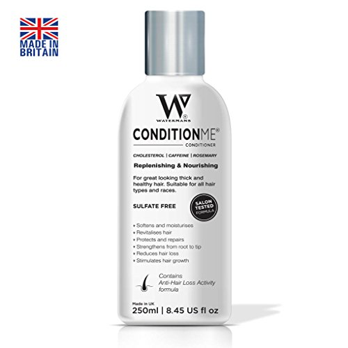 Watermans Hair Growth' Cholesterol Conditioner, Caffeine, Rosemary - All Types of Hair & Afro - Best treatment for Dry & Damaged Hair, best deep conditioning treatment, Reduce Hair fall