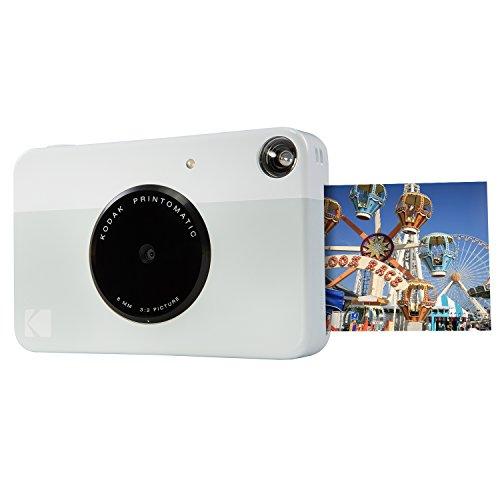 "Kodak Printomatic Sofortbildkamera, Drucke auf ZINK 2x3 ""Sticky-Backed Paper - Grau"