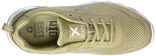 wize & ope Xrun-12, Sneaker Basse Unisex - Adulto Beige (Cammello )