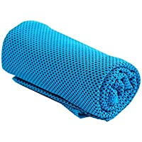 Carsge Toalla de enfriamiento Súper Absorbente, Secado rápido, Entrenamiento Deportivo, Toalla para Correr Juegos de Textiles de baño