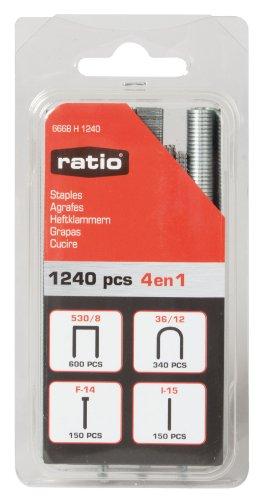 Ratio 6668H1240-Agrafes 530/Surtid 8,36/F -12 14 15-I