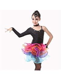 ecdc54e342bcc Trajes de Vestir de Baile de Tango Vestido de Baile Latino Traje de Baile de  Gimnasia