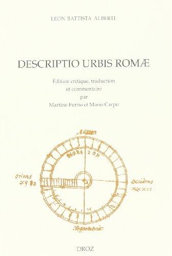 Descripto urbis romae