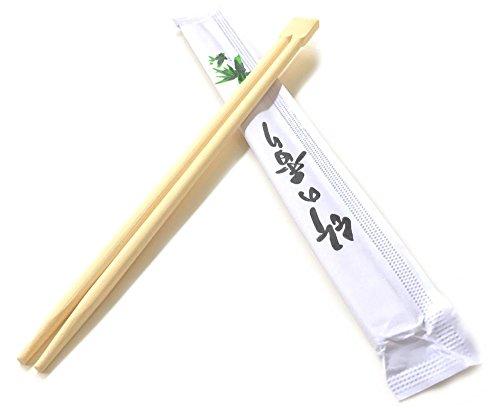 sellaviva cinese bacchette in legno monouso - bambù - 50 pezzi