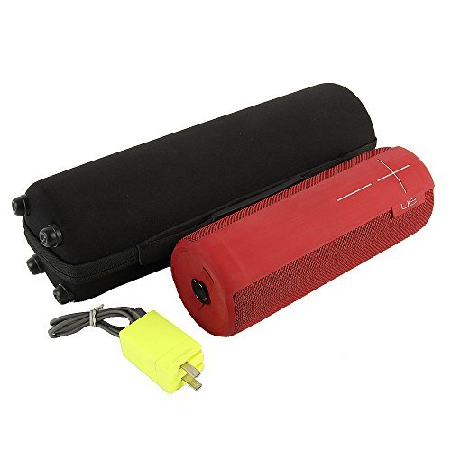 co2CREA Shell duro Llevar cubierta de la caja bolsa de almacenamiento para Logitech Ultimate Ears UE Megaboom Altavoz portátil inalámbrico Bluetooth