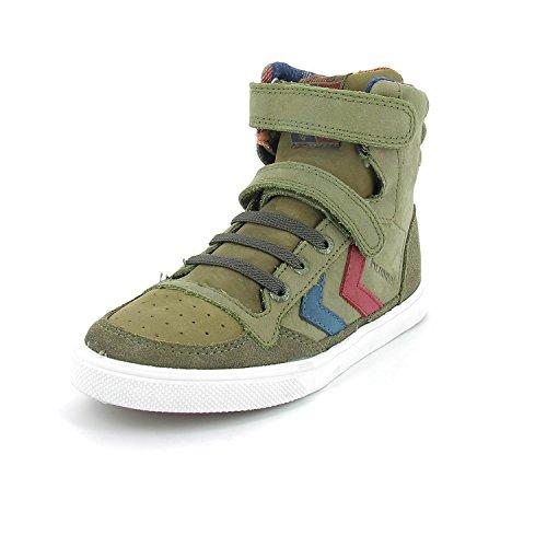 hummel SL STADIL OILED Jungen Hohe Sneakers Grün