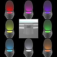 Easier Colorful Bewegungsmelder WC-Nachtlicht Home WC Badezimmer menschlichen Körper aktiviert Sensor Sitz Auto... preisvergleich bei billige-tabletten.eu