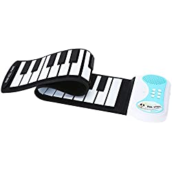 Piano Teclado Enrollable Flexible Roll Up - Andoer® 37 Teclas