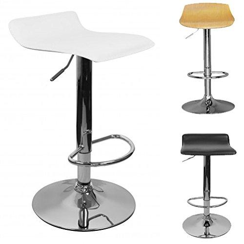finebuy barhocker tokyo wei h henverstellbar drehbar. Black Bedroom Furniture Sets. Home Design Ideas