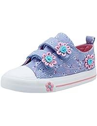 La Vogue Niña Zapatos de Lona Suave Primavera Verano