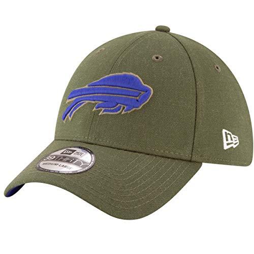 o Bills On Field Salute to Service 2018 39Thirty Stretch Cap - Olivgrün Farbe Olivgrün, Größe L-XL ()