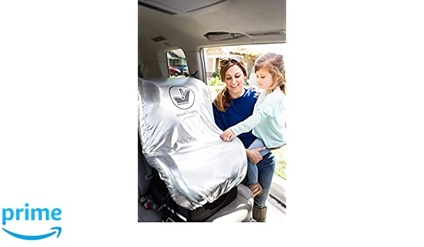 JL Childress Cool N Cover Car Seat Protector UV Resistant Shield to Protect your Car Seat