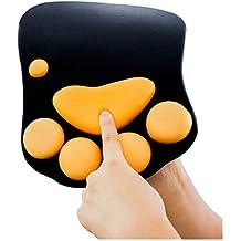 Partiss Fashion Ukt–suave silicona alfombrilla de ratón (reposamuñecas