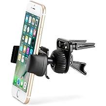 Supporto Sfiato Aria da Auto, iKross Universale Porta Cellulare Smartphone Air Vent Mount Holder per (Deluxe Imbottito Basso)