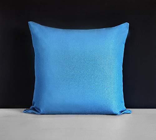 Blue Sunbrella-set (Mike21Browne Sunbrella Outdoor Solid Regatta Blue Pillow Cover 18 x 18 inch 45 x 45cm)